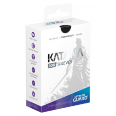Ultimate Guard Katana Standard Sleeves - Black (100ct)