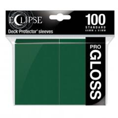 Ultra Pro Glossy Eclipse Standard Sleeves - Forest Green (100ct)