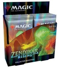 (SECOND WAVE) - Zendikar Rising - Collector Booster Box (In-State Shipping or In-Store Pick-up ONLY)