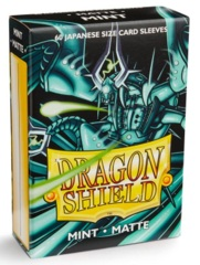 Dragon Shield Matte Small Sleeves - Mint (60 ct)