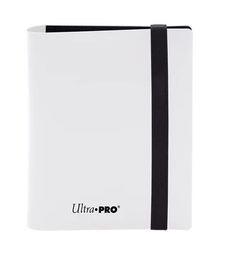 Ultra Pro 2-Pocket Eclipse Binder - Arctic White
