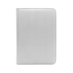 Dex Protection 9 Pocket Zipper Binder - White