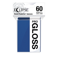 Ultra Pro Glossy Eclipse Small Sleeves - Pacific Blue (60ct)