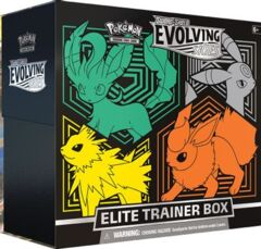 Sword & Shield 07: Evolving Skies - Elite Trainer Box [Flareon/Jolteon/Umbreon/Leafeon] (In-store Pickup ONLY)