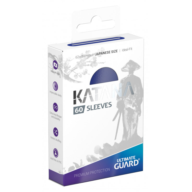 Ultimate Guard Katana Small Sleeves - Blue (60ct)