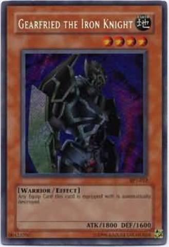 Gearfried the Iron Knight - BPT-012 - Secret Rare - Limited Edition