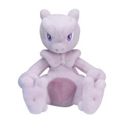 Mewtwo Sitting Cuties Plush - 5 1/2 Inch