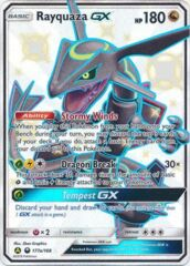 Rayquaza GX - 177a/168 - Alternative Art Promo