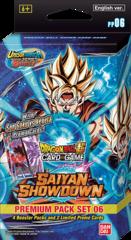 Saiyan Showdown Premium Pack 06