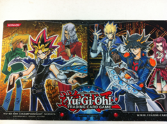 YCS Rhode Island Chairty Playmat Signed by Voice Actors