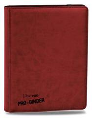 Ultra Pro 9-Pocket Premium PRO-Binder Red