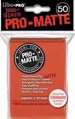 PRO-MATTE Ultra Pro Yu-Gi-Oh Sleeves - Peach (60ct)