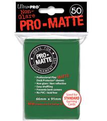 PRO-MATTE Ultra Pro Yu-Gi-Oh Sleeves - Green (60ct)