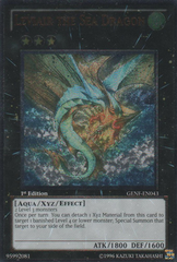 Leviair the Sea Dragon - Ultimate - GENF-EN043 - Ultimate Rare - 1st
