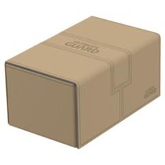 Ultimate Guard - Twin Flip'n'Tray Deck Case - XenoSkin Standard Size 160+ Sand