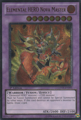 Elemental HERO Nova Master - Ultimate - GENF-EN093 - Ultimate Rare - 1st