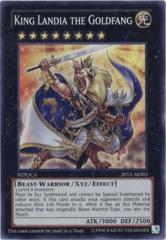 King Landia the Goldfang 2012-AE003 Super Rare