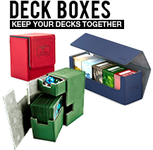 Deck Boxes, Keep your decks together