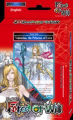 Valentina, the Princess of Love - Water Starter Deck