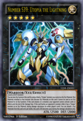 Number S39: Utopia the Lightning - YZ08-EN001 - Ultra Rare - Limited Edition