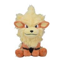 Arcanine Sitting Cuties Plush - 6 Inch