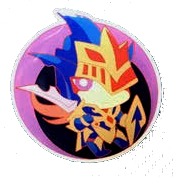 CoreTCG Exclusive Pin - Black Luster Soldier