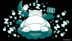 Snoozing Snorlax Playmat