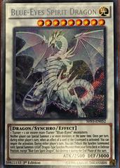 Blue-Eyes Spirit Dragon - SHVI-EN052 - Secret Rare - 1st Edition
