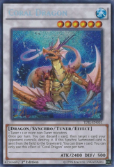 Coral Dragon - TDIL-EN051 - Secret Rare - 1st Edition