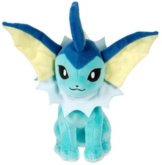 Pokemon TOMY 8 Inch Vaporeon Plush