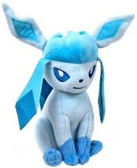 Pokemon TOMY 8 Inch Glaceon Plush