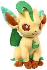 Pokemon TOMY 8 Inch Leafeon Plush