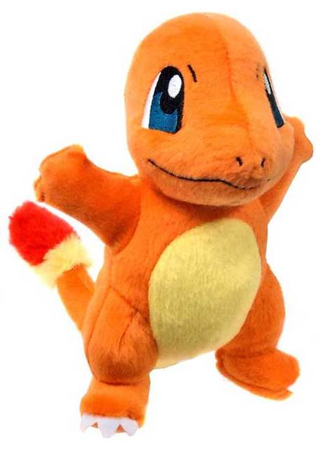 Pokemon TOMY 8 Inch Charmander Plush