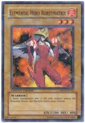 Elemental Hero Burstinatrix - MF03-EN002 - Parallel Rare - Promo Edition