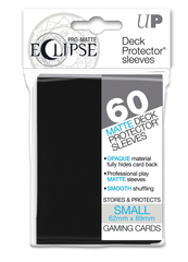 Ultra Pro Sleeves - 60 count - Small Sized - Pro-Matte Eclipse Black
