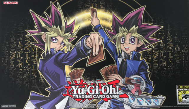 2017 San Diego SDCC Comic-Con Exclusive Yu-Gi-Oh Playmat