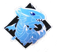 CoreTCG Exclusive Pin - Blue-Eyes White Dragon