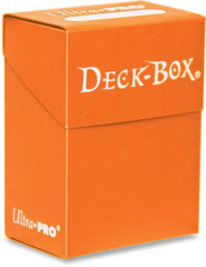 Ultra Pro Standard Deck Box in Orange