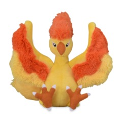 Moltres Sitting Cuties Plush - 8 1/2 Inch