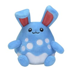 Azumarill Sitting Cuties Plush - 6 1/2 Inch