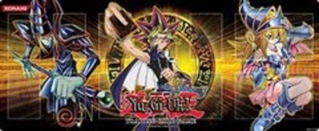 Gold Series 4 Playmat - Yugi With Dark Magician  Dark -2575