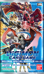 Digimon Card Game Release Special Booster Box Ver.1.5 Booster Pack