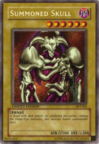 Summoned Skull - BPT-002 - Secret Rare - Limited Edition