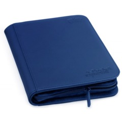 Ultimate Guard Zipfolio XenoSkin - 4 Pocket -  Blue