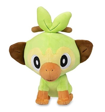 Pokemon Sword & Shield Official 8 Inch Grookey Plush