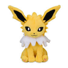 Jolteon Sitting Cuties Plush - 6 Inch