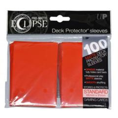 Ultra Pro Sleeves - 100 count - Standard Sized - Pro-Matte Eclipse Red