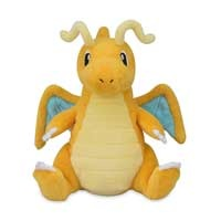 Dragonite Sitting Cuties Plush - 6 1/2 Inch