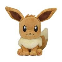 Eevee Sitting Cuties Plush - 6 1/2 Inch