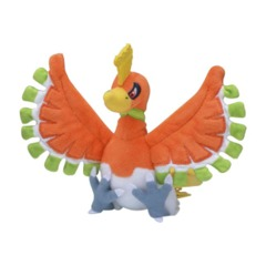 Ho-Oh Sitting Cuties Plush - 7 Inch